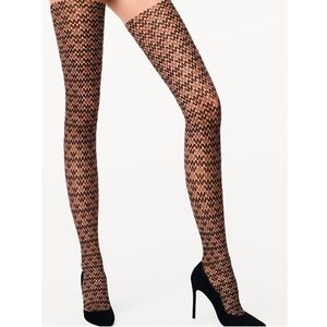Wolford Logo Tights
